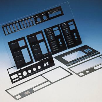 Panels für Elektronikgeräte, beispielsweise Car-HiFi