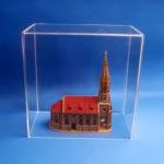 Staubschutzhaube für Architekturmodelle
