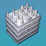 Verpackungseinsätze für Joghurtbecher